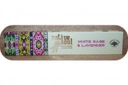 Wierook, White Sage en lavender, Native Soul, Green Tree ~ geurhout.nl