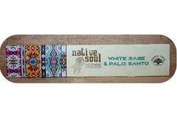 Wierook, White Sage en Palo Santo, Native Soul, Green Tree ~ geurhout.nl